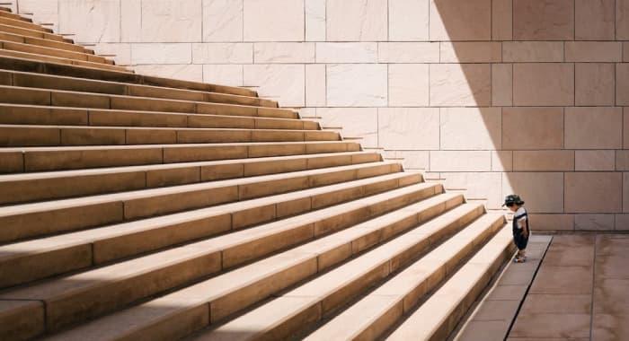 schodiště cesta k cili dite