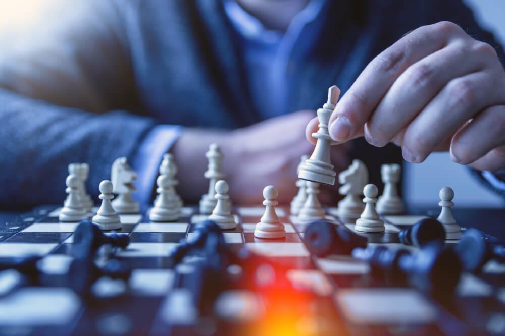 šachy ruka